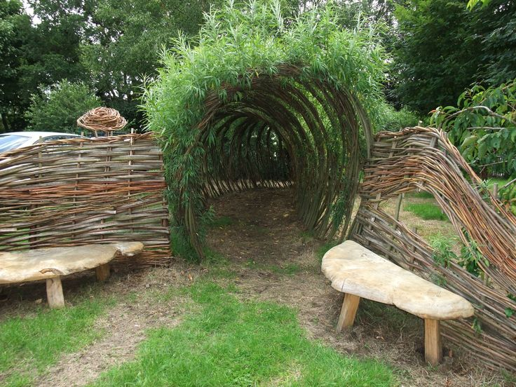 Structures the dancing trees for Garden structure designs